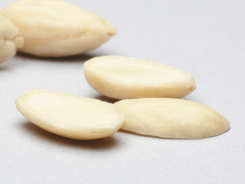 12 BLANCHED ALMONDS SPLITS